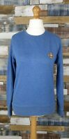 Jack and Jones Originals Blue Cotton Blend Mens Jumper Size S