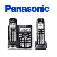 Panasonic KX-TGF572S DECT 6.0 2 Handset Cordless Phone