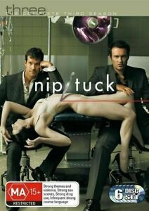 Nip/Tuck : Season 3 (2007, 6-Disc Set) - DVD Series Rare Aus Stock -Excellent
