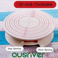 12 Inch Cake Making Turntable Revolving Decorating Platform Stand DIY Display