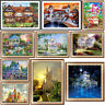 House DIY 5D Diamond Painting Embroidery Building Cross Stitch Kits Home Decor