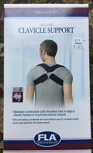 FLA PRO LITE DELUXE CLAVICLE SUPPORT SMALL NEW IN BOX