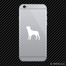 (2x) Rottweiler Cell Phone Sticker Mobile dog canine pet many colors