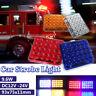 12V LED Recovery Light Bar Car Amber Emergency Flashing Strobe Beacon Truck Lamp