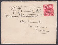 1903 E CROWN R Bickerdike London M/C to Hexham (B/S), Nothumberland