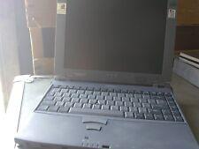 Vintage Toshiba Portege 7010CT laptop computer Pentium II.+ Docking