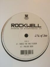"""Rockwell Chorus Of Disapproval Ep Drum&bass/jungle/mint 12"""" Friction/limited"""