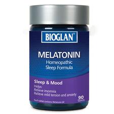 BIOGLAN MELATONIN 90 TABLETS HOMOEPATHIC SLEEP FORMULA RELIEVE INSOMNIA, ANXIETY