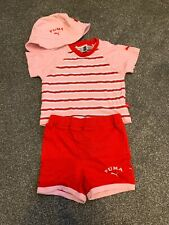 Puma Baby Summer Outfit Size 6-9 Months