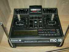 Graupner Sender MC 18 mit Akku, Antenne und 35 Mhz Modul
