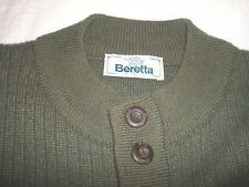 Vintage Beretta Sport Shooters Sweater Men's 58 (Made in Italy)