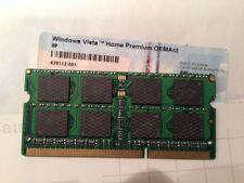 Windows Vista Home Premium COA Original from computer with memory