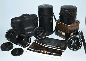Olympus 35mm Lenses (3), plus!