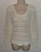 BODEN cotton open stitch jumper UK 10 12 US  8 10 EU 38 40
