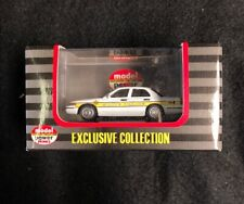 Model Power MINIS 1:87 2005 Crown Vic 2005 ILL STATE W/POLICE LIGHT  DIECAST NEW