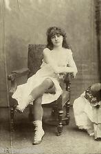 ÉTUDE DE NU ARTISTIQUE nue nude vintage photo photographie lingerie fétichisme