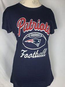 New England Patriots NFL Navy Blue Women's T-Shirt Sz XL NWT