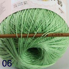 AIP Thread No8 Cotton Crochet Thread Yarn Craft Tatting Knit Embroidery 50g/400y