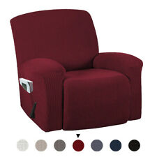 1 Piece Stretch Reclining Chair Recliner Slipcovers Furniture Protector Cover