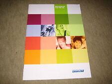 FIAT SEICENTO PUNTO PALIO BARCHETTA prospetto brochure prospetto di 4/2001