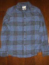 NWT! Goodfellow & Co- Blue Ribbon Long Sleeve Plaid Shirt Size Xxl
