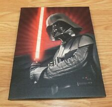 """Lucasfilm Darth Vader 8 1/2"""" x 6 1/2"""" (inch) Collectible Wall Hanging Canvas"""