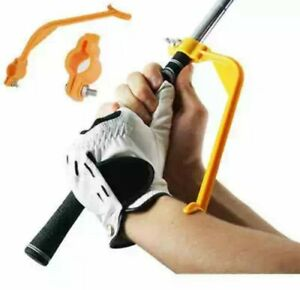 Golf Swing Trainer Swing Posture Corrector Alignment Training Aid ( Orange )