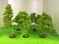 Spring Precision Trees 8-11cm- Seafoam  Model Scenery Railway Wargame Forest