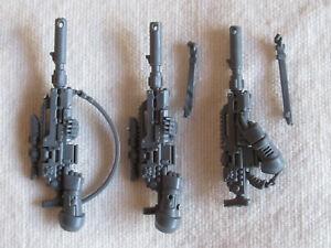 3 Space Marine Eliminator Bolt Sniper Rifles *Warhammer 40,000* Games Workshop