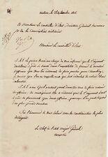 Général CHARPENTIER autographe 1806