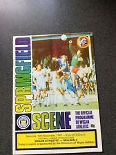 Wigan Athletic v Millwall Programme 1982/83