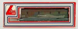 LIMA 00 GAUGE - 305370 - BR OLIVE GREEN ENGINEERS DEPT. AIR COMPRESSOR VAN BOXED