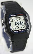 Casio Men's W-800H-1AV Watch Digital Multi Function Sports 10 Year Battery New