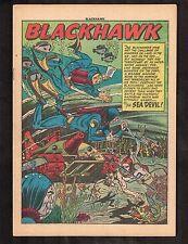 "Blackhawk #59 (Dec. 1952)  ~  ""The Sea Devil"" (.5) WH"