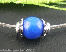 500 Antiksilber Blume Perlen Beads Ende Kappen 1x3mm für 4-5mm Beads