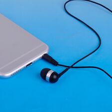 3.5mm Single Side Mono Wire Earphone In Ear Earbud Headphone Headset for Phone