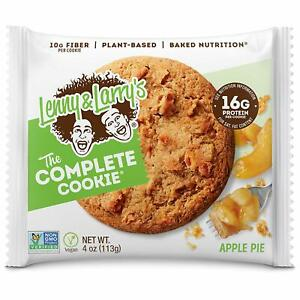 Lenny & Larry's | The Complete Cookie, Vegan, Soft Baked | Apple Pie, 12 ct