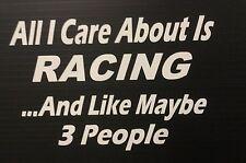 Humorous Stickers (Racing)
