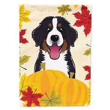 Caroline's Treasures Bb2043Gf Bernese Mountain Dog Thanksgiving Flag Garden S.