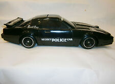 VINTAGE OLD BATTERY OPERATED TOY PLASTIC SECRET POLICE CAR - KUANG WU 1988