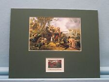 The Battles of Lexington & Concord honored by Stamp issued for 200th Anniversary