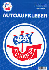 Aufkleber FC Hansa Rostock rund