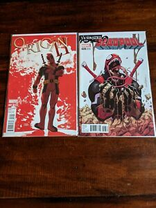 DEADPOOL Lot 6 Comics Clayton Crain, Daniel Way, Paco Medina