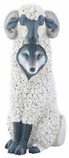 """DUPERS Wolf In Sheep's Clothing Resin Figurine, 5.75"""" Tall, by Summit"""