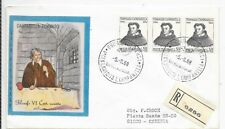 ITALY REGISTERED COVER 5/9/68;400 BIRTH ANNIVERSARY TOMMASO CAMPANELLA;SG 1227.