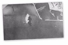 R.A.F BOMB GERMAN SUPPLY SHIP TYBORON DENMARK 1941 RARE HARDBACK WAR PRINT