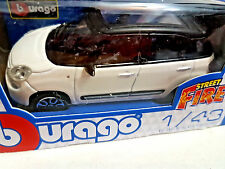 Fiat 500L Great 500 White - Die Cast 1:43 - BBurago New in Box