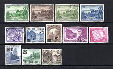 NORFOLK ISLAND 1947-1960 VERY FINE USED ODD STAMPS CAT £48.45
