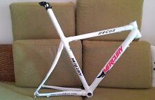 Price Drop - Mercury Full Carbon Road Bike Frame, 52cm, White