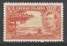 Cayman Islands GVI 1938 sg115 MM